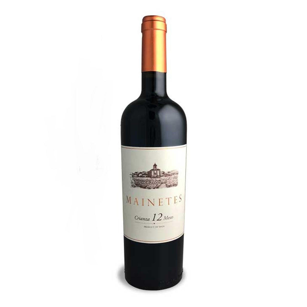 西班牙MAINETES CRIANZA 12 干红葡萄酒