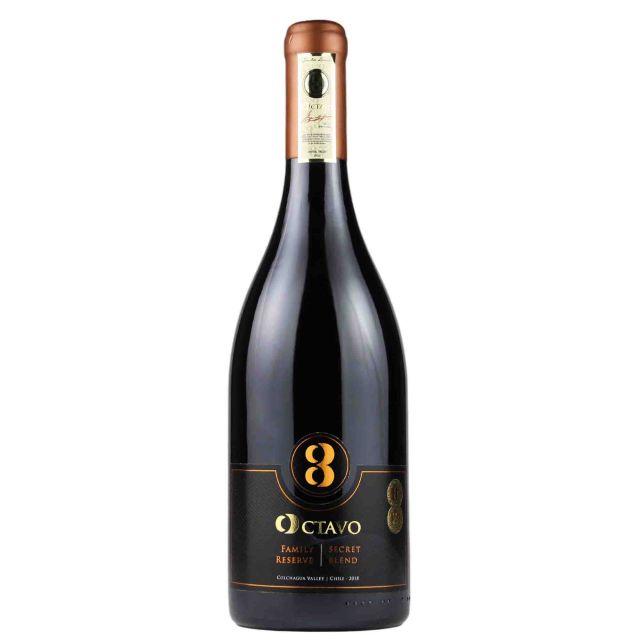 智利空加瓜谷奥卡罗家族珍藏干红葡萄酒
