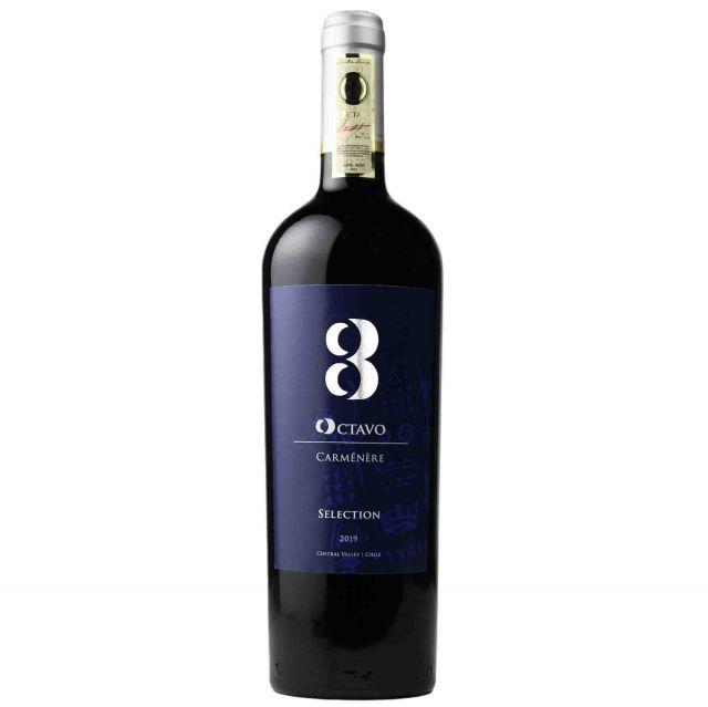 智利中央山谷奥卡罗精选佳美娜干红葡萄酒