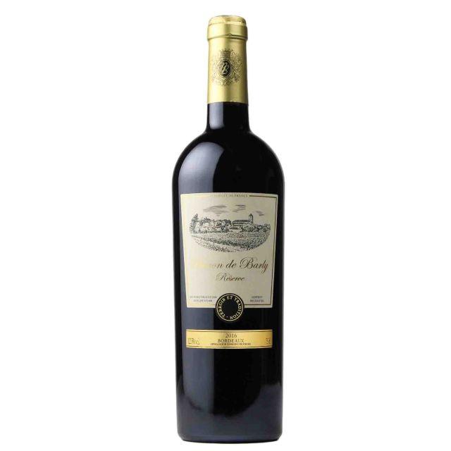 法国波尔多巴利男爵珍藏干红葡萄酒