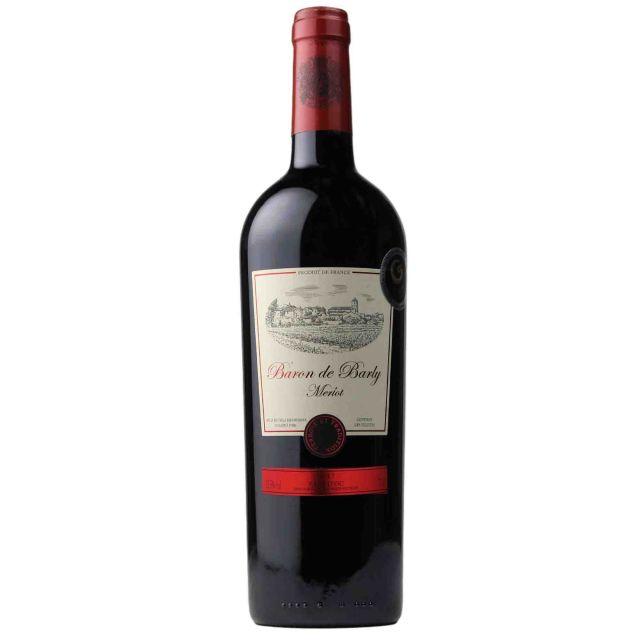 法国巴利男爵美乐干红葡萄酒