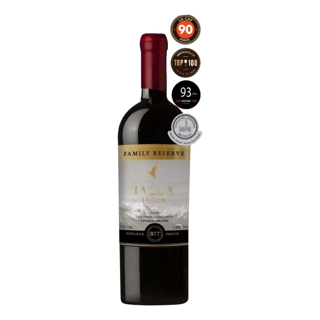 智利兰佩谷 塔古亚家族珍藏赤霞珠红葡萄酒
