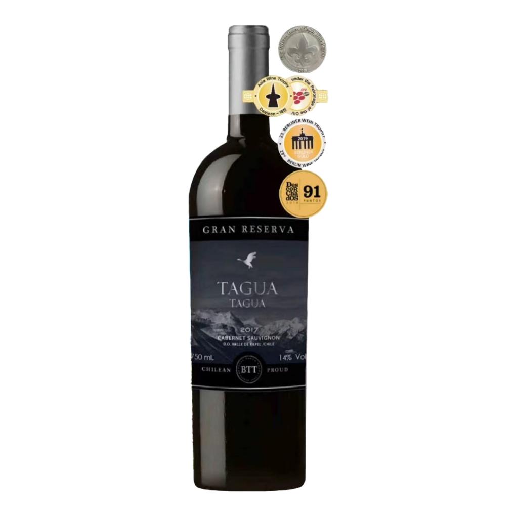 智利兰佩谷塔古亚特级珍藏赤霞珠红葡萄酒