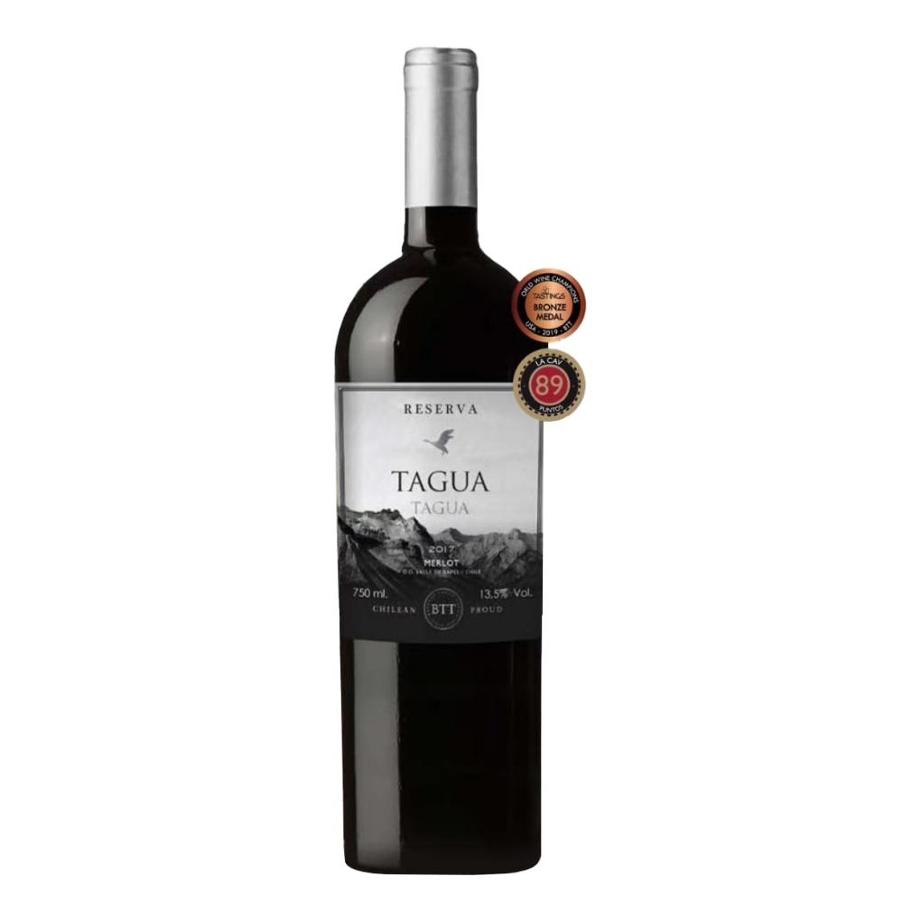 智利兰佩谷 塔古亚珍藏梅乐红葡萄酒