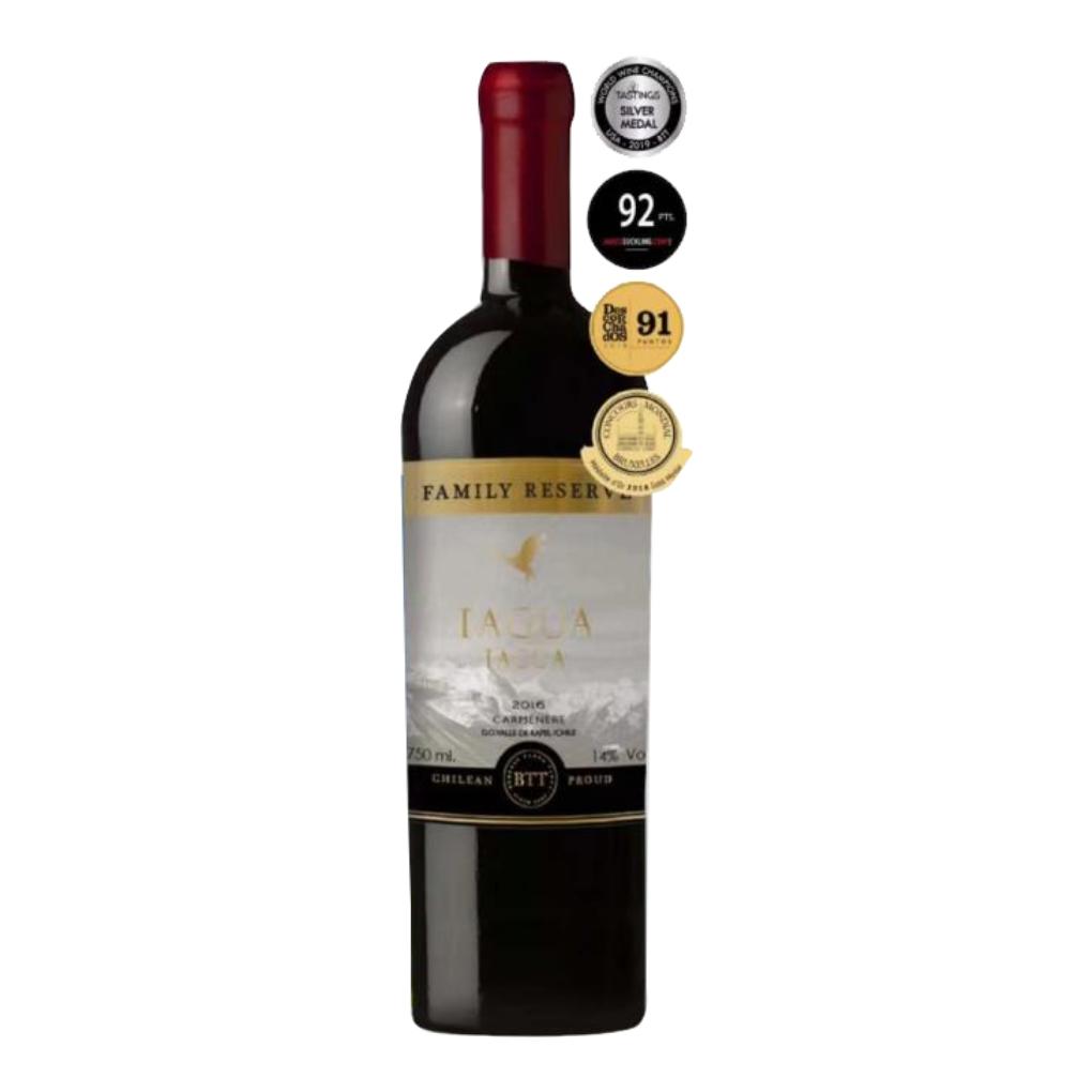 智利兰佩谷塔古亚家族珍藏佳美娜红葡萄酒