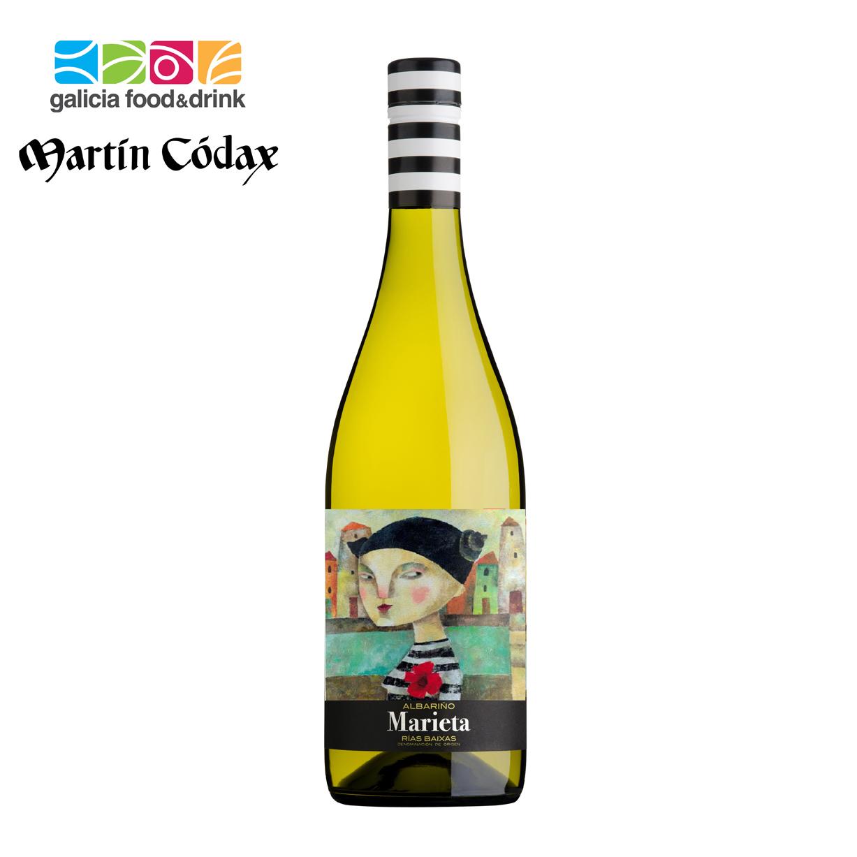 西班牙加利西亚马丁哥达仕爱丽塔少女干白葡萄酒