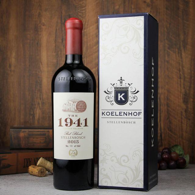 南非豪富庄园克伦博斯1941珍藏限量版红葡萄酒红酒