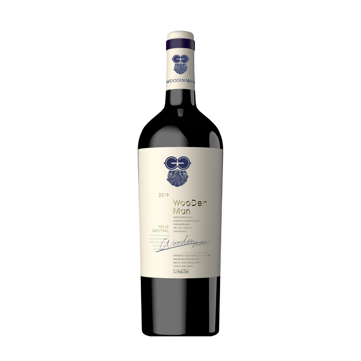 智利莫莱谷木翁先生精选赤霞珠红葡萄酒红酒