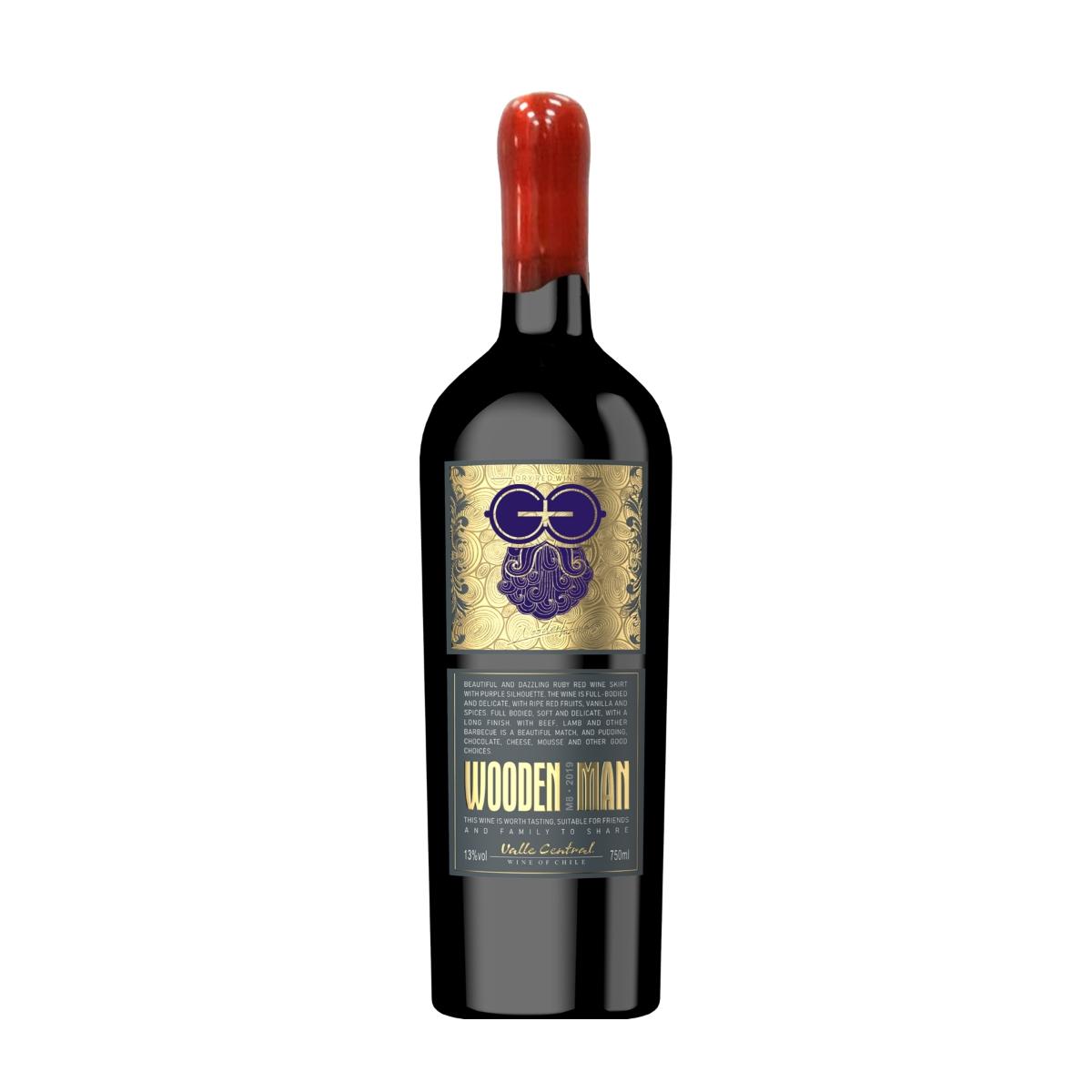 智利莫莱谷木翁先生特级珍藏红葡萄酒红酒