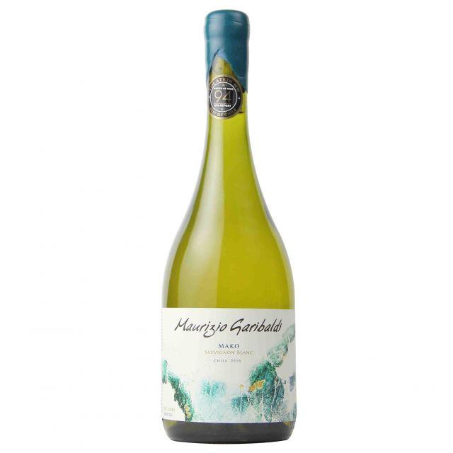 智利加里波第玛卡长相思干白葡萄酒
