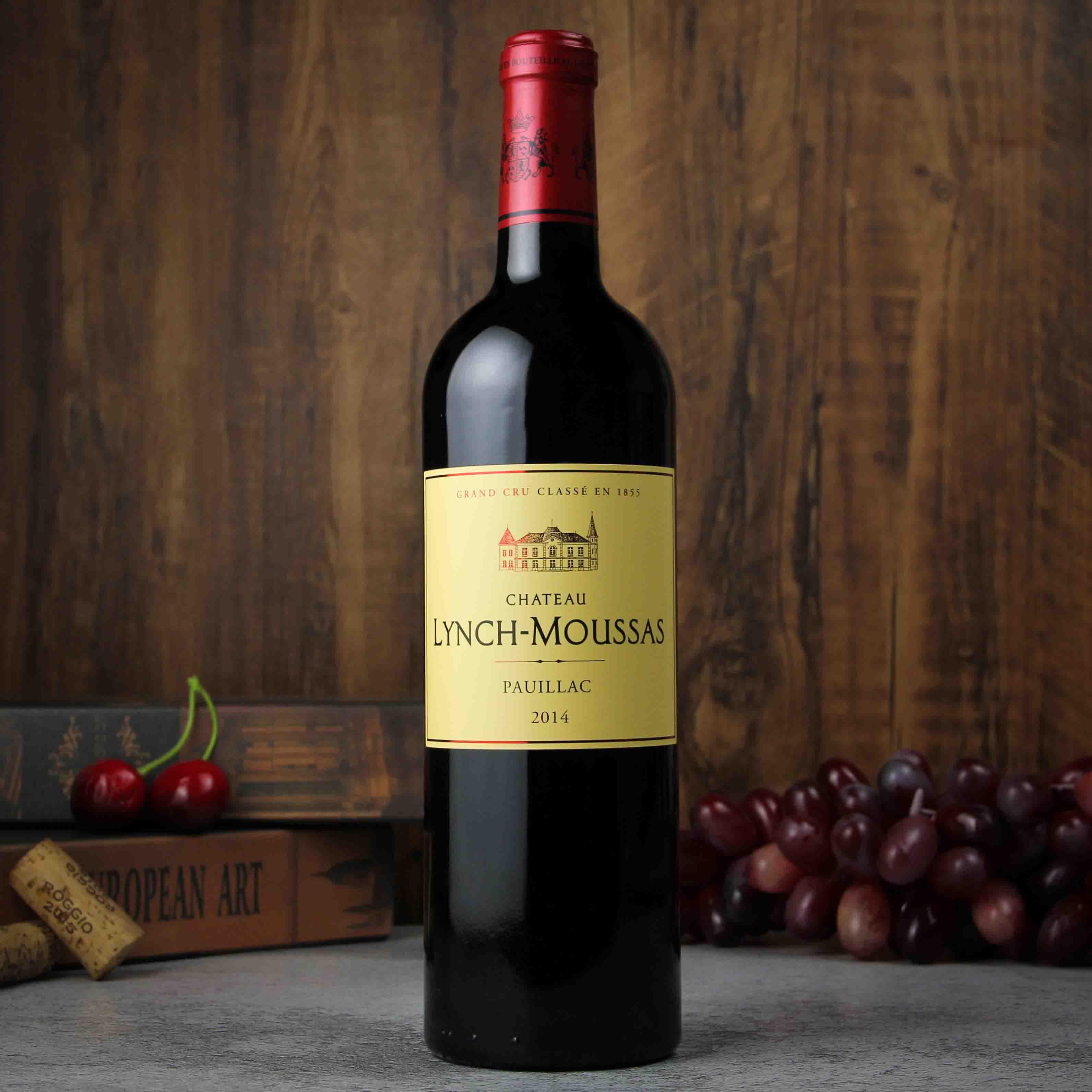 法國波爾多浪琴慕莎酒莊波亞克干紅葡萄酒紅酒