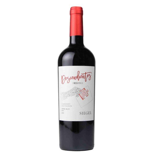 智利中央山谷西格尔酒庄传承精选赤霞珠红葡萄酒红酒