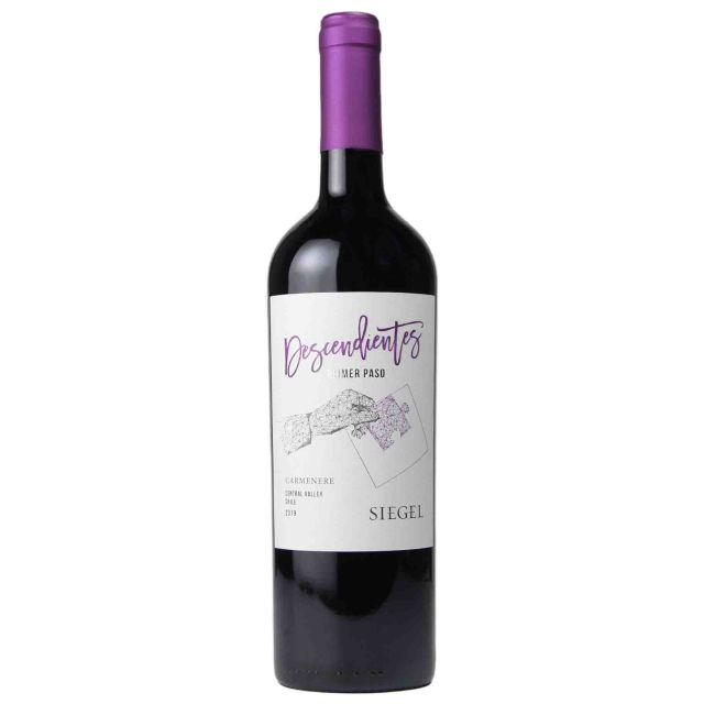 智利中央山谷西格尔酒庄传承精选佳美娜红葡萄酒红酒
