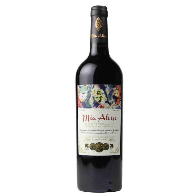 西班牙卡利涅那米雅爱丽丝DO珍藏干红葡萄酒红酒