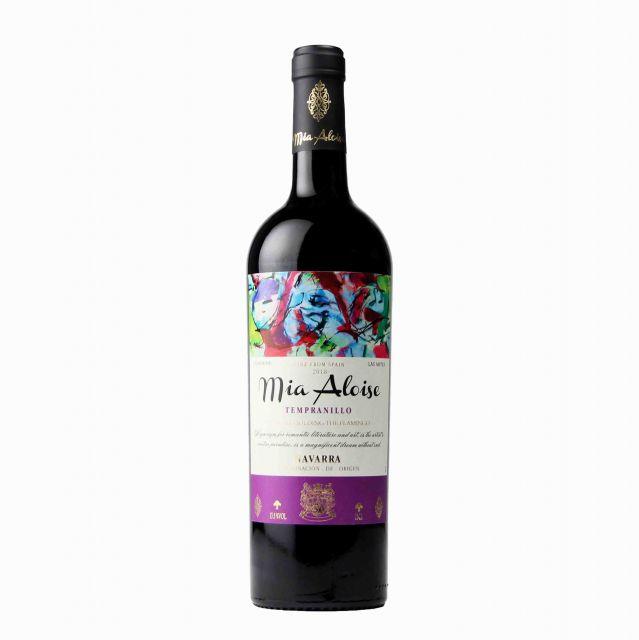 西班牙纳瓦拉米雅爱丽丝添帕尼优干红葡萄酒红酒