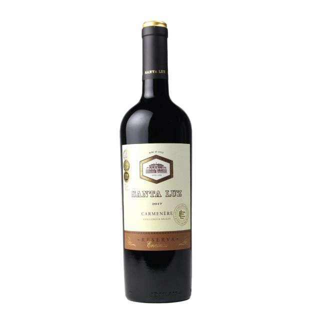 智利中央山谷桑塔露琪珍藏佳美娜干红葡萄酒