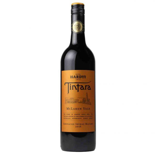 澳大利亚夏迪添达拿麦克拉伦谷赤霞珠干红葡萄酒