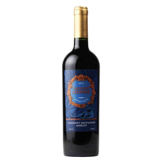 智利中央山谷骁豹赤霞珠美乐干红葡萄酒