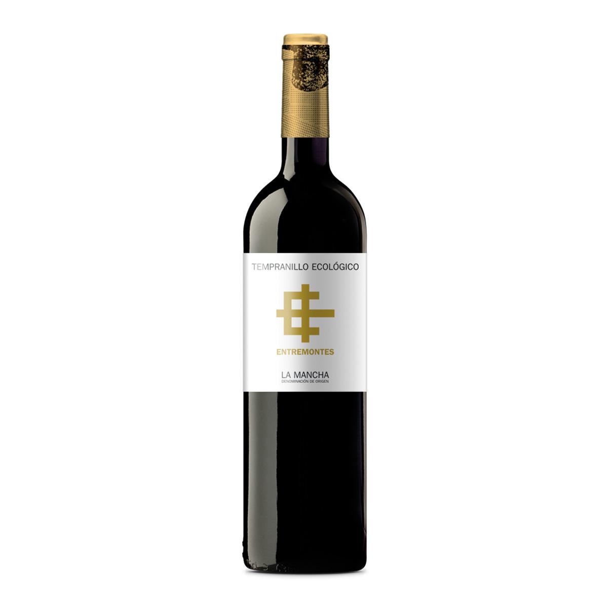 西班牙ENTREMONTES ORGANIC TEMPRANILLO有机丹魄干红葡萄酒