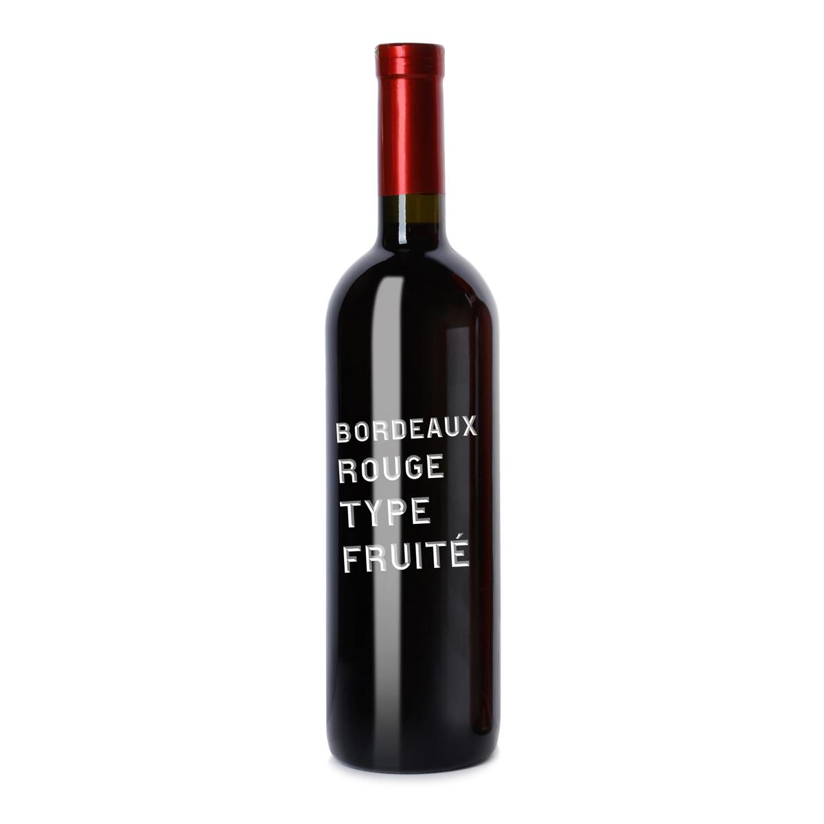法国AOC Bordeaux red