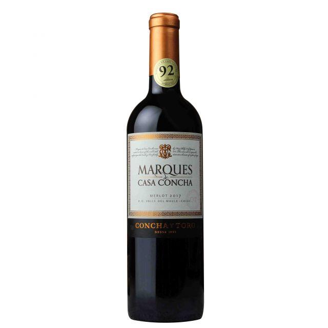 智利莫莱谷干露侯爵梅洛干红葡萄酒 2017