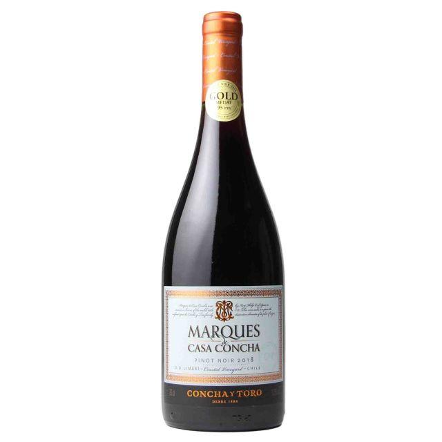 智利利马里谷干露侯爵黑皮诺干红葡萄酒 2018