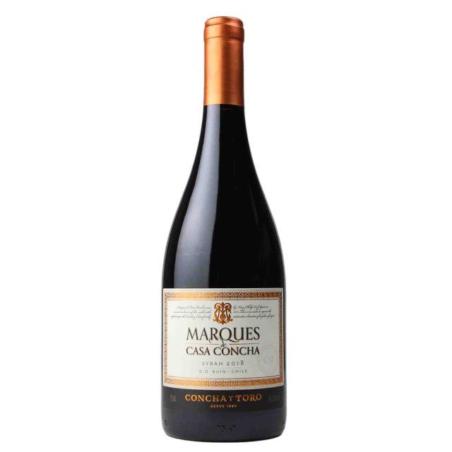 智利迈坡谷干露候爵西拉干红葡萄酒 2018