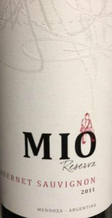 米奥珍藏赤霞珠干红葡萄酒 2011