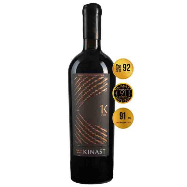 智利金纳斯家族酒庄隆图谷K1至尊限量干红葡萄酒
