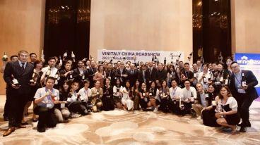 萨迪拉诺家族参与 Vinitaly China Roadshow 2021 山城圆满落幕!