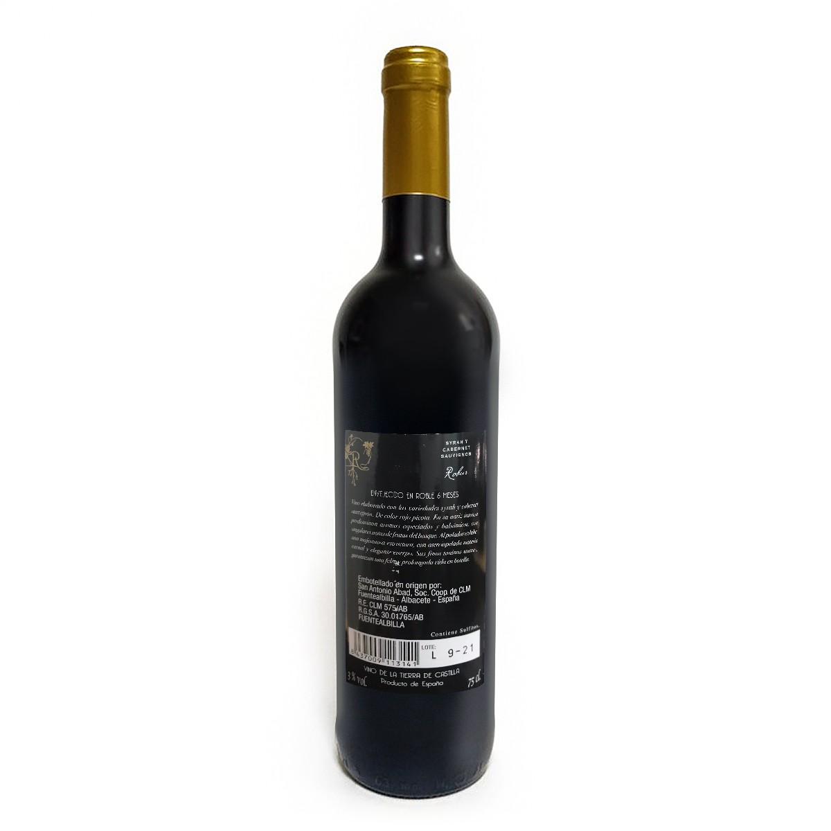 西班牙Robur 6个月橡木桶陈酿红葡萄酒
